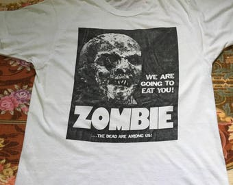 The Dead Are Among Us vintage t-shirt/Free Shipping