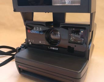 Vintage Polaroid 636 Close up camera