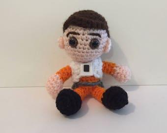 Poe Amigurumi Crochet Doll