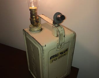 Valor gas can lamp