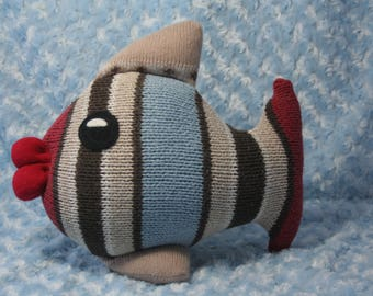 Fish SweaterBaby (Made from recycled sweaters)
