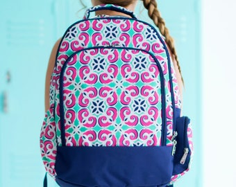 On Sale | Monogrammed Backpack | Back to School |Backpack | Girls Backpack | School Backpack | Personalized Bag | Personalized |Book Bag
