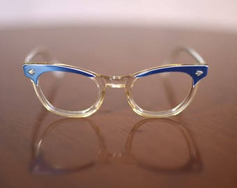 Vintage 1950s Cat-eye Glasses