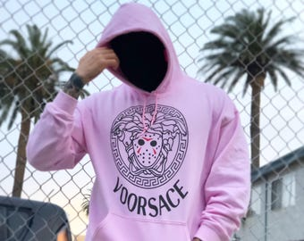 VOORSACE - PINK - Men's (unisex) Hoody - Limited Edition