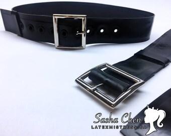 Latex MISTRESS Rubber belt