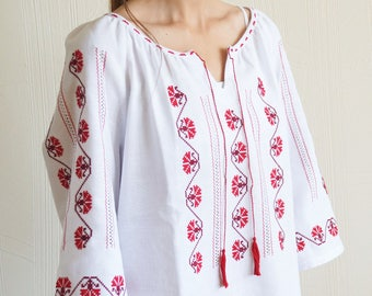 Women's blouse with patterns,The modern,Fashionable,Summer blouse,Lightweight blouse.
