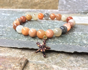 Starfish Sonnenstein bracelet summer sea maritime