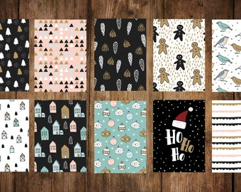 Christmas cards Pack of 10, postcards
