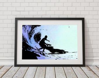 Original design Surfing print