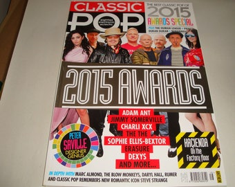 Classic Pop Magazine Apr/May 2015 2015 Awards Human League Prince Duran Duran Bananarama Erasure