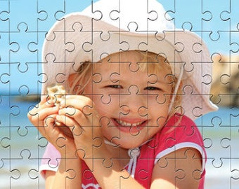 Personalised Jigsaw Puzzle MDF Gloss Wooden Pieces