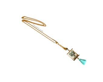 """""""NEA"""" Indian necklace"""