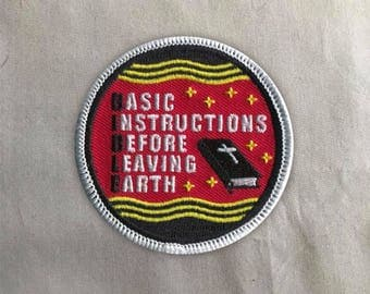 Bible Patch | Sew on | Embroidery | Patches for Jackets | Christian Patch | Jesus Patch | Tumblr Patch | Back Patch | Cute Patch