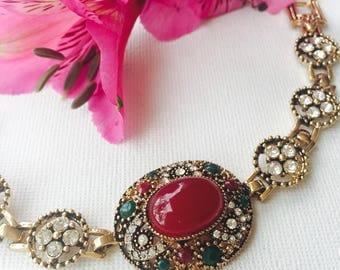 Retro Design German Silver Delicate Bracelet - Beautiful Design