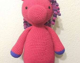 Crochet Unicorn Doll *Made to Order*
