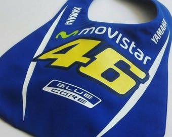 MotoGP Movistar Yamaha Rossi Feeding baby bib
