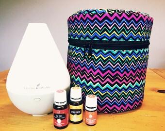 Essential Oil Diffuser Bag - Bright ZigZag