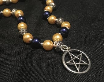 Pagan Prayer Beads - Ra/Horus Prayer Beads