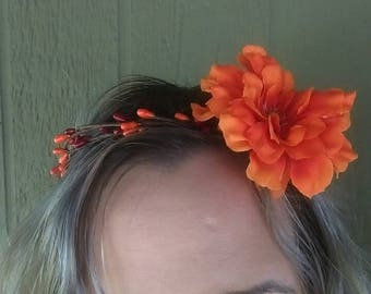 Autumn Hair Wreath