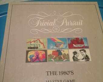 Vintage Trivial Pursuit The 1980s Master Game