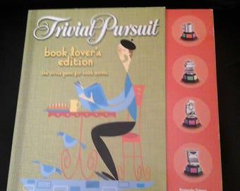 Vintage Trivial Pursuit For Book Lovers