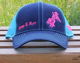 Jump&Run Neon Blue