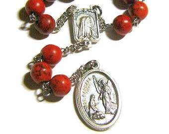 Saint Raphael Chaplet, St Raphael the Archangel, Catholic Rosary, Patron of Travelers, the Blind, Nurses, Physicians, Medical Workers,