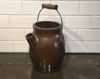 Antique Stoneware Batter Jug
