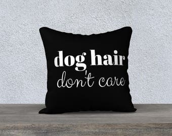 Accent Pillow Cover for Dog Person - Free Shipping - Made in Canada by KarenMakes
