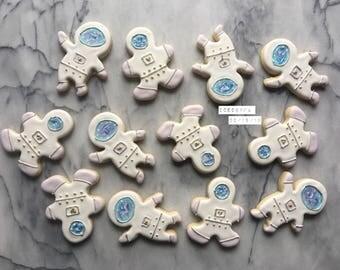 Astronaut cookies  Sugar cookies