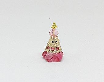 Miniature Perfume Bottle / Miniature Perfume Bottles / Dollhouse Perfume / OOAK / Miniature Vanity
