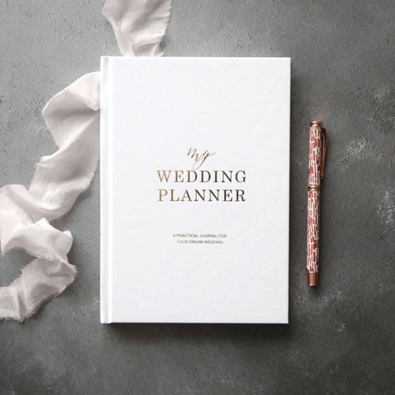 Wedding Planner Gifts: Luxury Wedding Planner Book Engagement Gift Wedding