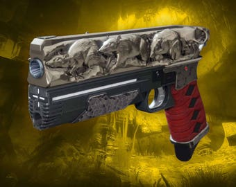 Cosplay DESTINY 2 gun RAT KING