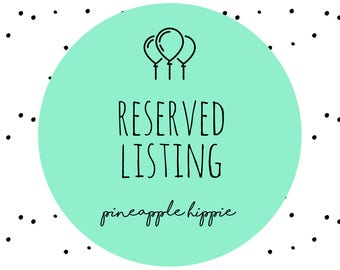 Reserved Listing for - Henry
