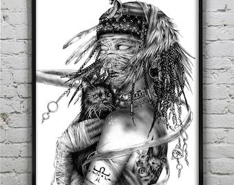Cleopatra - Ancient Egypt - Art Prints