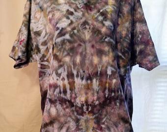 Tie Dye, Black Split Profile, XL