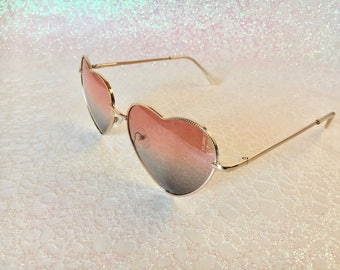 Heart Sunglasses | Heart Sunnies | Festival Sunglasses | Buy One Get One Free