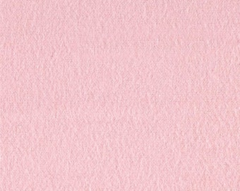 """Fabric Remnant - Solid in Pink - FLANNEL - 11""""x42"""""""