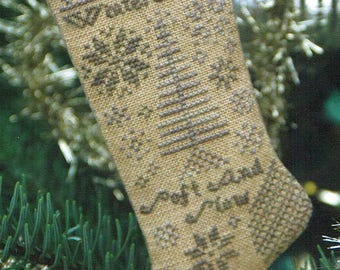 Winter Snow by Heartstring Samplery Counted Cross Stitch Pattern/Chart