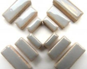 Ceramic Rectangle - Dove Grey - 50g / 1.75 oz(approx. 60 pieces)