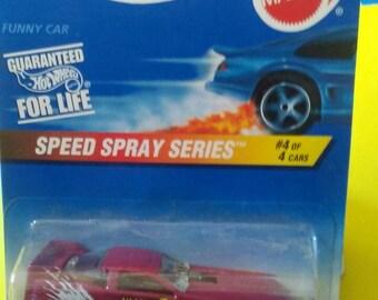 Hot Wheels Pontiac Bonneville Funny Car New on card