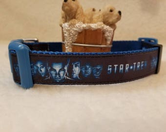 Space Handmade Dog Collar 1 Inch Wide