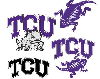 Tcu Horned Frogs Svg Files, Tcu Horned Frogs Png, Tcu Horned Frogs EPS, Tcu Horned Frogs DXF Digital Download