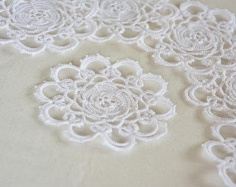 Tea Set Sweet Home Home decor Doilies White Doilies Doilies for kitchen and dining Tatted doilies