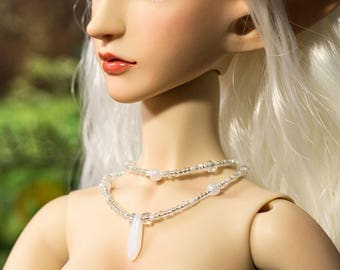 BJD Beaded Double Stranded Necklaces