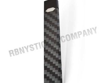 Skin Decal Wrap for JUUL Black Carbon Fiber