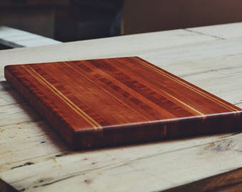 "Cherry Cutting Board 17 1/2"" x 11 1/2"""