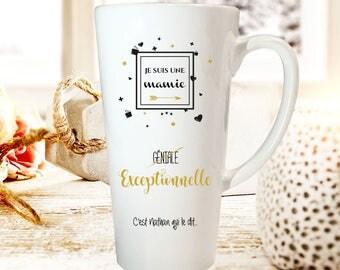 """Christmas gift Grandma - Mug customize """"great Grandma"""" - Grandma Christmas gift - gift mother Grandma"""