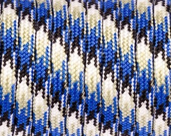 Blue camouflage Paracord 30 meters