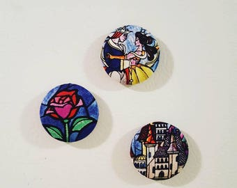 Beauty And The Beast Magnets Beauty And The Beast BATB Magnets Disney  Magnets Disney Home Decor